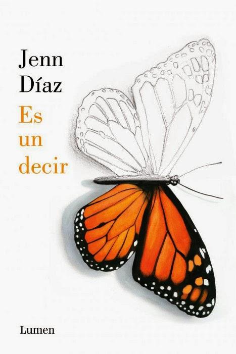 """Cubierta de la novela """"Es un decir"""", de Jenn Diaz."""